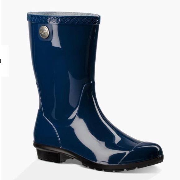 daa67c101ff UGG Sienna Rain Boots-Blue Jay-8M Boutique
